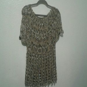Sioni crochet beach tunic cover up
